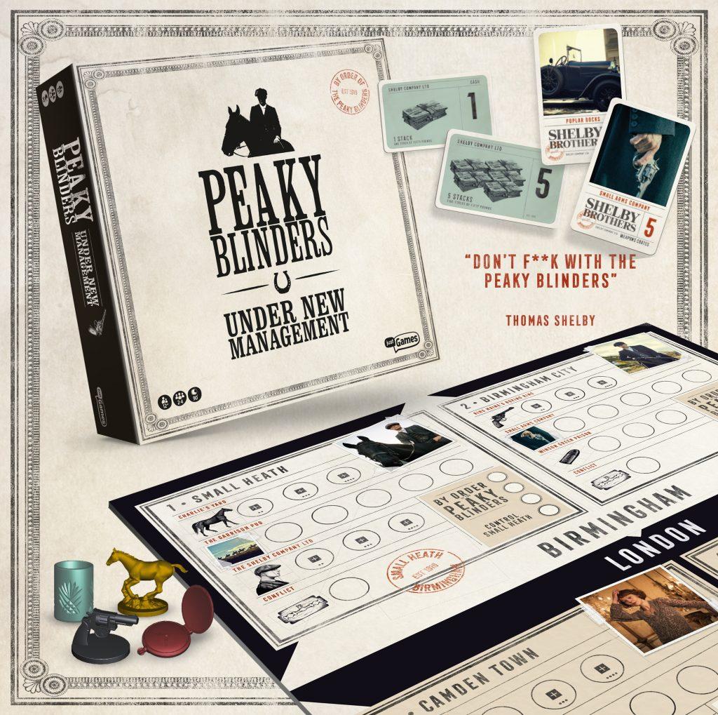 Het officiele Peaky Blinders bordspel van Peakyblindersbordspel.nl